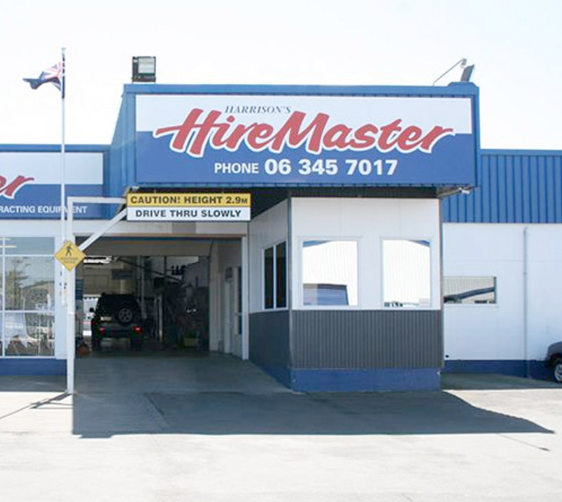 Harrisons HireMaster Wanganui