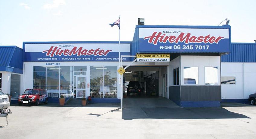 Harrisons HireMaster Wanganui