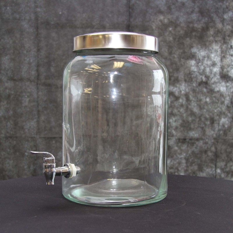 Harrisons Hiremaster Wanganui Catering Hire Glass Drink Dispenser 10L