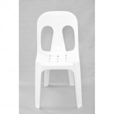 Harrisons Hiremaster Wanganui Party Hire White Stacking Chair