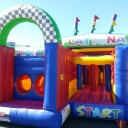 Harrisons Hiremaster Wanganui Bouncy Castle ObstacleCourse Bouncy Castle