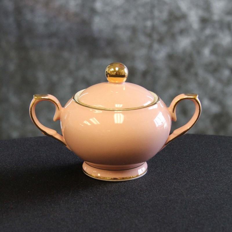 Harrisons Hiremaster Wanganui Catering Hire Pink Sugar Bowl