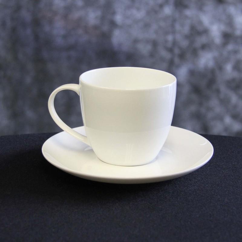 Harrisons Hiremaster Wanganui Catering Hire Bone China Cup & Saucer