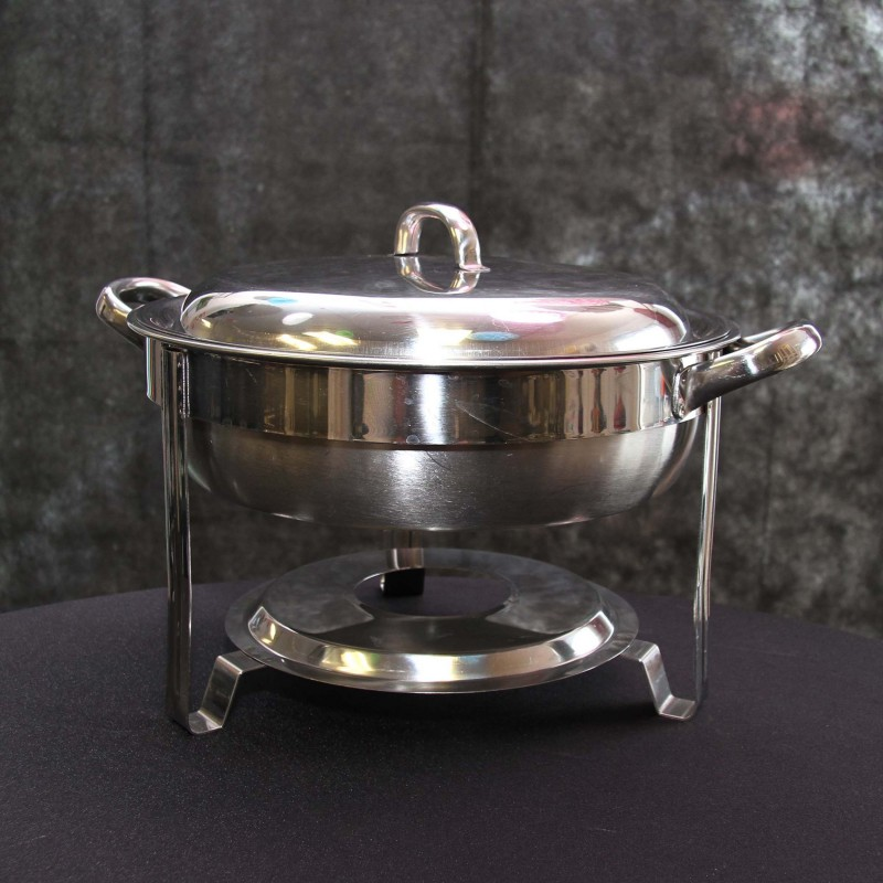 Harrisons Hiremaster Wanganui Catering Hire Single Round Chaffing Dish