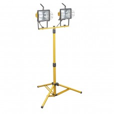 Double 500w Floodlight On Stand