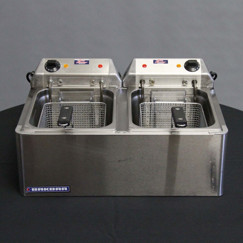 Harrisons Hiremaster Wanganui Catering Hire Tabletop Double Fryer