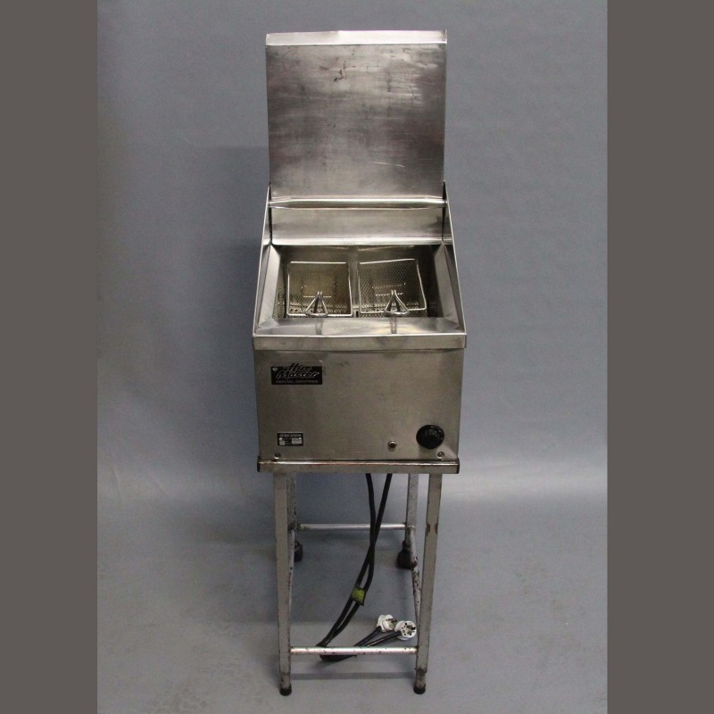 Harrisons Hiremaster Wanganui Catering Hire Double Deep Fryer on Stand
