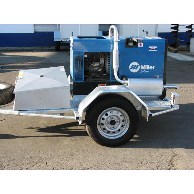 Generator/Arc Welder Trailerised 10KVA (250AMP)