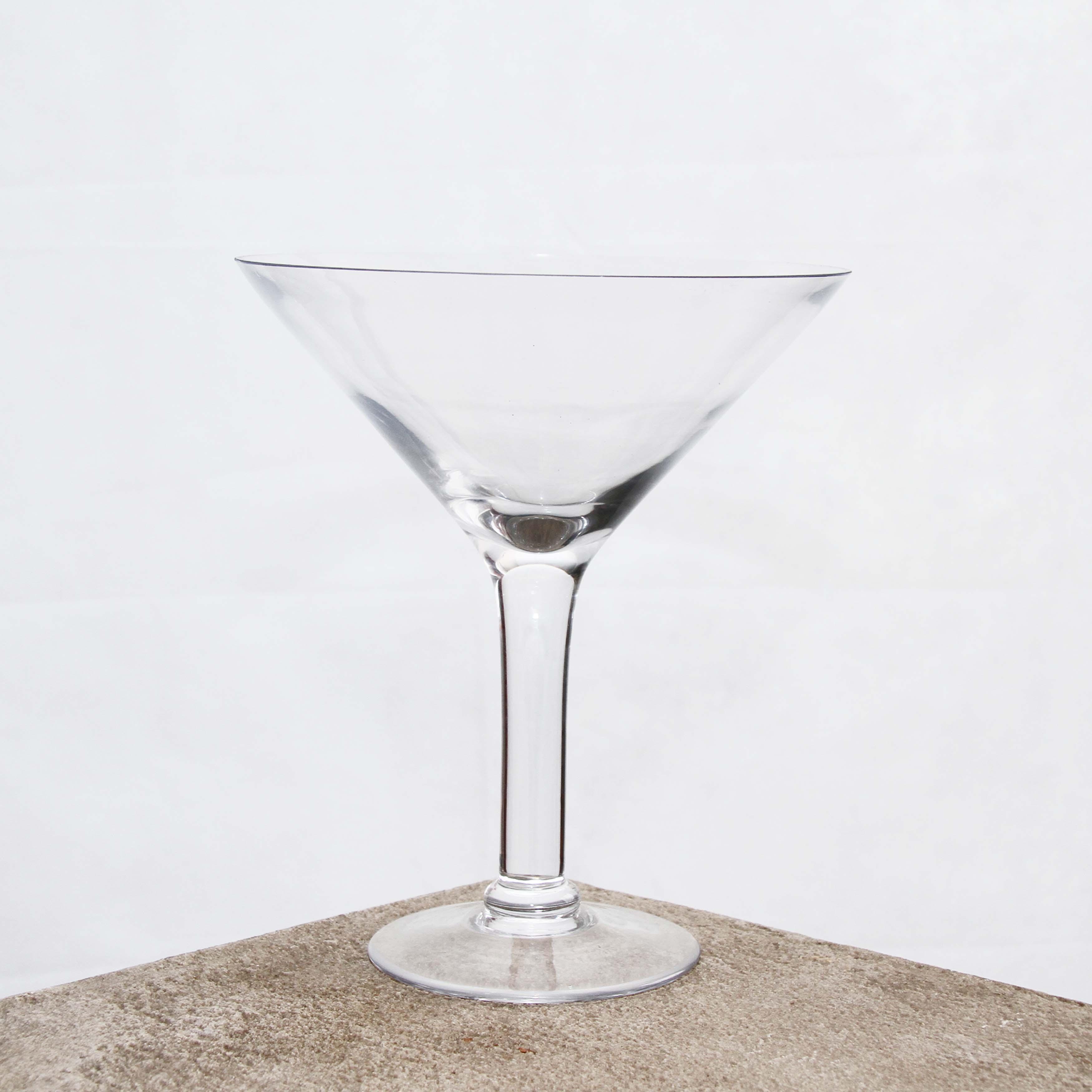 Vase Martini 23cm D x 26cm H