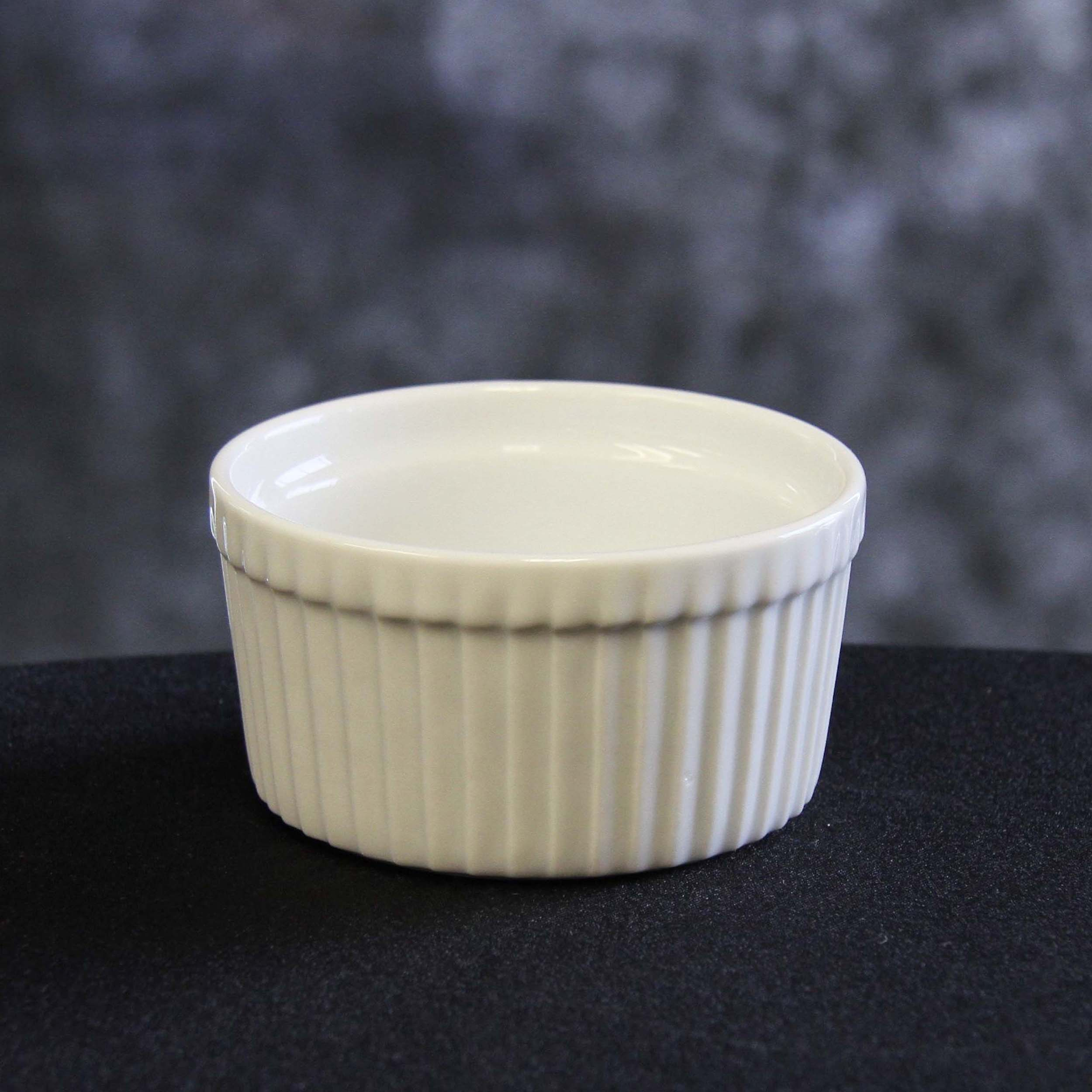 Ramekin Dish White Harrisons Hiremaster Wanganui