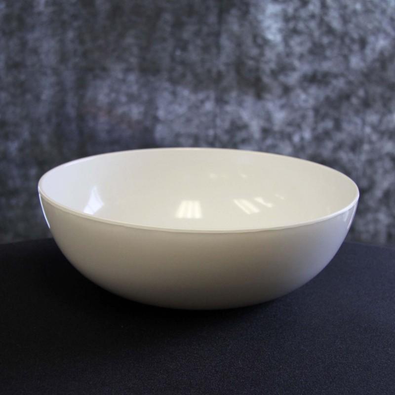 Round White Bowl Melamine