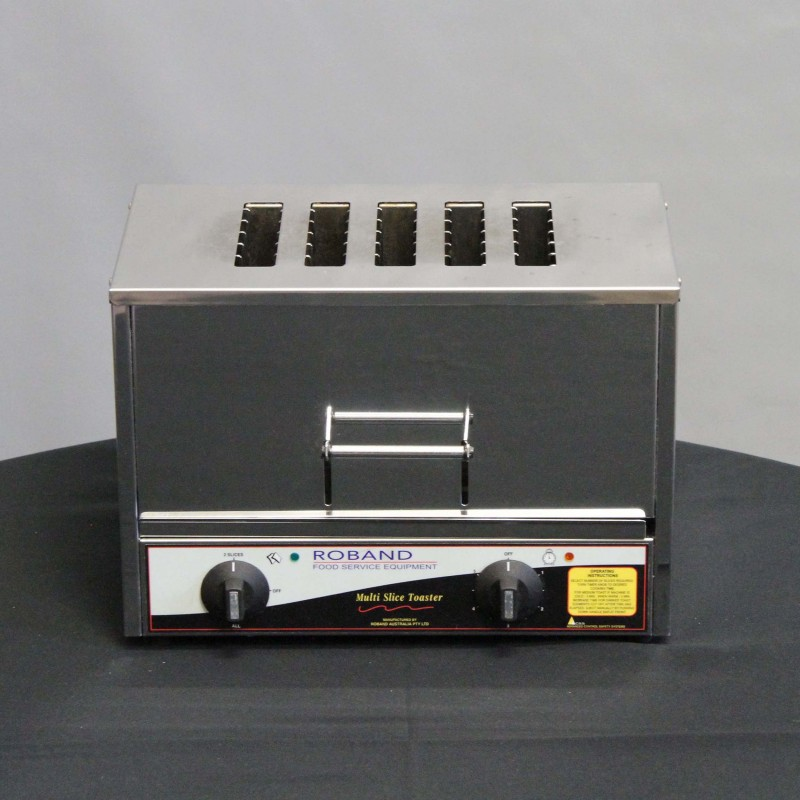 Harrisons Hiremaster Wanganui Catering Hire 5 Slice Pop-Up Toaster