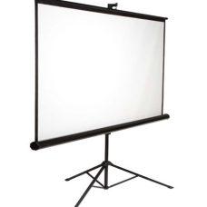 White Projector Screen on Tripod