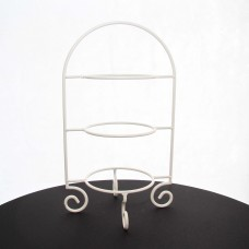 White Cake Plate Stand (3 tier)