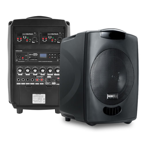 Portable PA System with Microphone