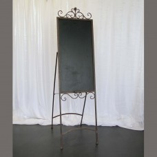 Harrisons Hiremaster Wanganui Party Hire Brown Blackboard Easel
