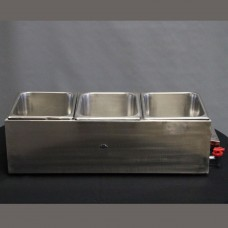 Tabletop Bain Marie (3 Medium Pots)