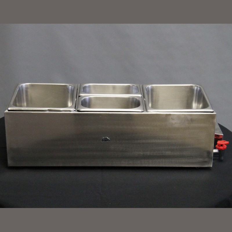 Table Top Bain Marie (2 Medium Pots, 2 Small Pots)