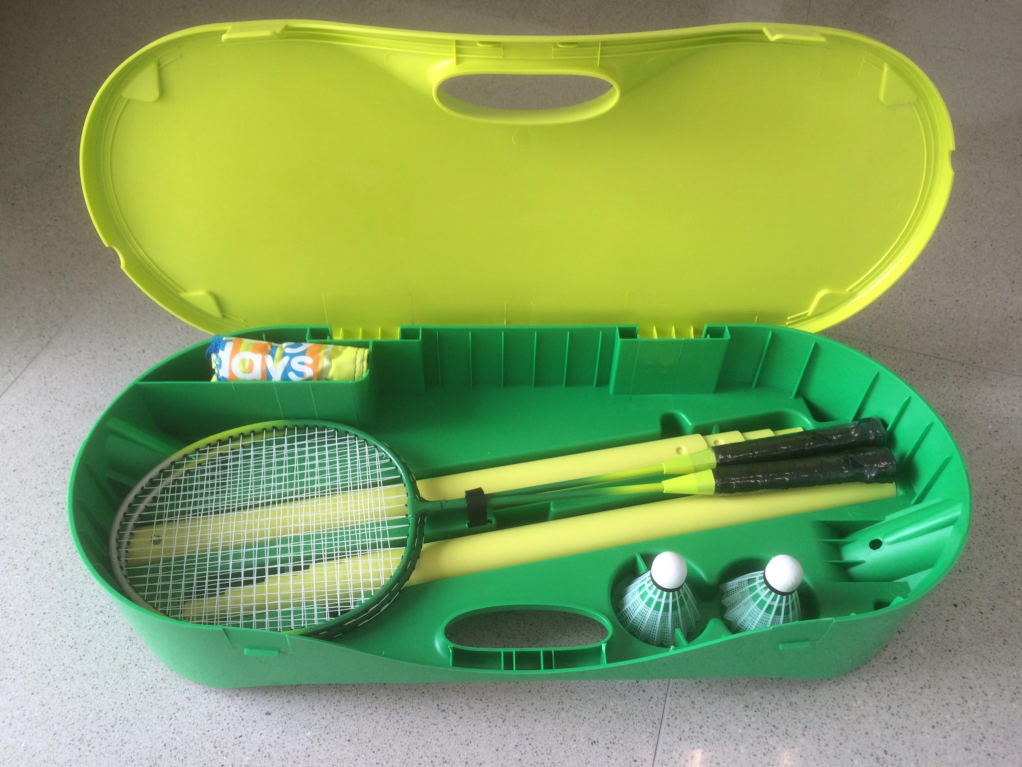 badminton set portable - Patre Boules Colores