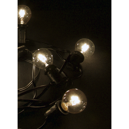 String Lights Hire : Festoon String Lights Indoor 6.5M Harrisons HireMaster Wanganui