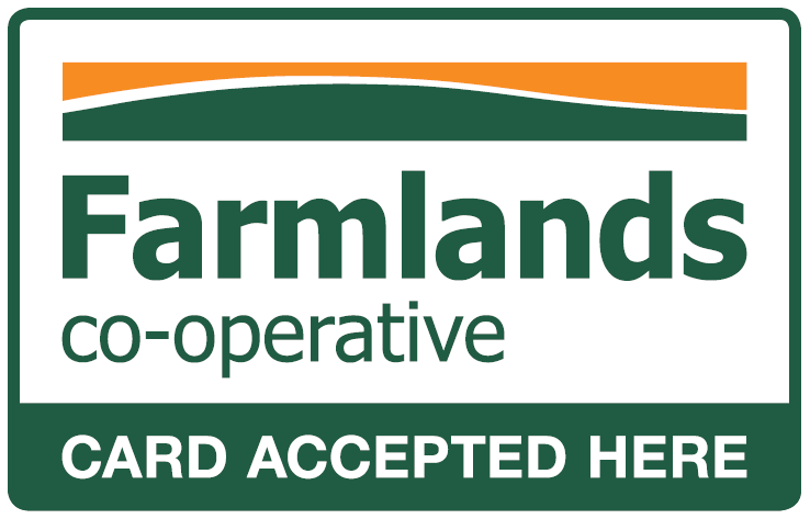 Farmlands cards accepted here